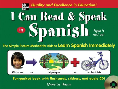 9780071440431: I Can Read and Speak in Spanish (Book + Audio CD): The Simple Picture Method for Kids to Learn Spanish Immediately