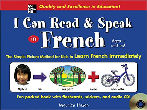 9780071440462: I Can Read and Speak in French (Book + Audio CD)