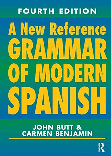 9780071440493: A New Reference Grammar of Modern Spanish