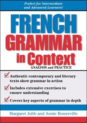 9780071440509: French Grammar in Context
