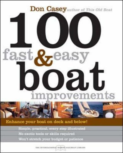 9780071440554: 100 FAST & EASY BOAT IMPROVEMENTS