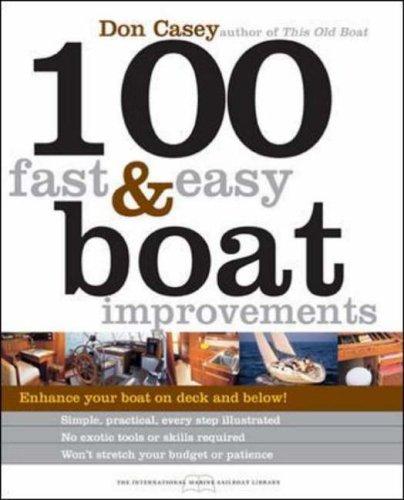 9780071440554: 100 Fast & Easy Boat Improvements