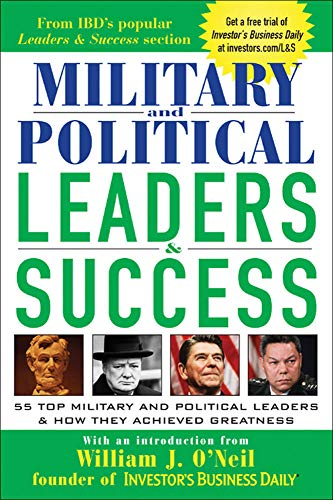 9780071440592: Military and Political Leaders & Success : 55 Top Military and Political Leaders & How They Achieved Greatness