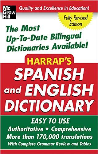 9780071440721: Harrap's Spanish and English Dictionary (Harrap's Dictionaries)