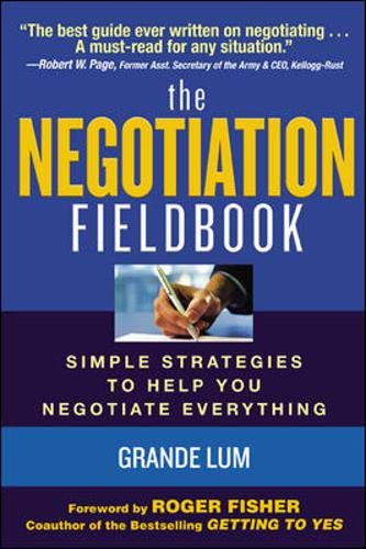 9780071441148: The Negotiation Fieldbook