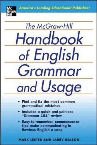 9780071441339: The McGraw-Hill Handbook of English Grammar and Usage: The Comprehensive and Commonsense Guide to Flawless English