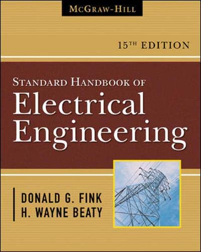 9780071441469: Standard Handbook for Electrical Engineers