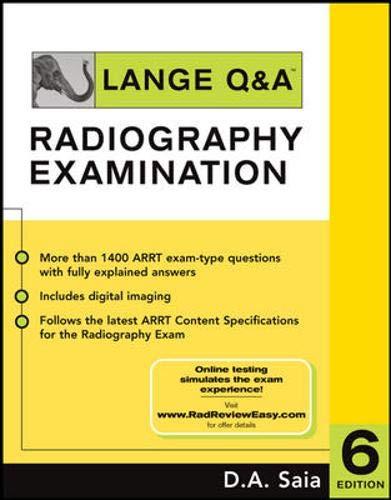 9780071441667: Lange Q&A - Radiography Examination