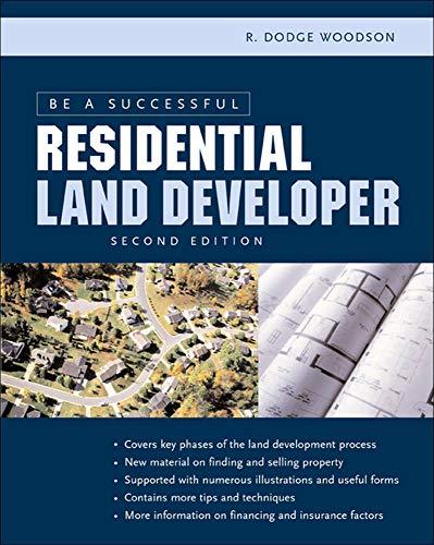 9780071441711: Be a Successful Residential Land Developer (P/L Custom Scoring Survey)