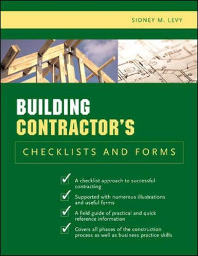 9780071441728: Building Contractor's Checklists and Forms