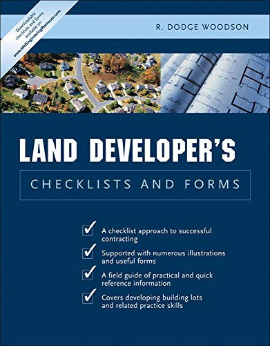 9780071441735: Land Developer's Checklists and Forms