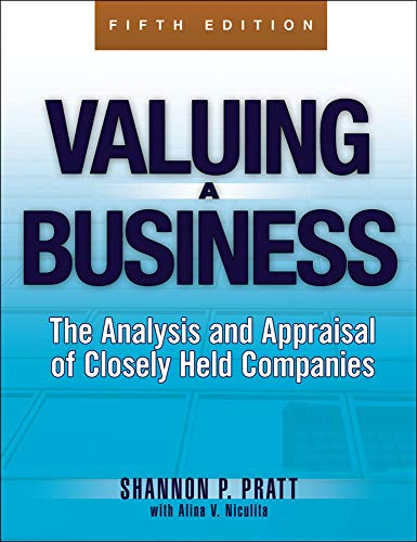 9780071441803: Valuing a Business, 5th Edition: The Analysis and Appraisal of Closely Held Companies (McGraw-Hill Library of Investment and Finance)