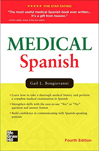 9780071442008: Medical Spanish, Fourth Edition (Bongiovanni, Medical Spanish)