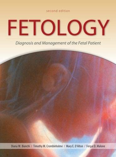 9780071442015: Fetology: Diagnosis and Management of the Fetal Patient, Second Edition