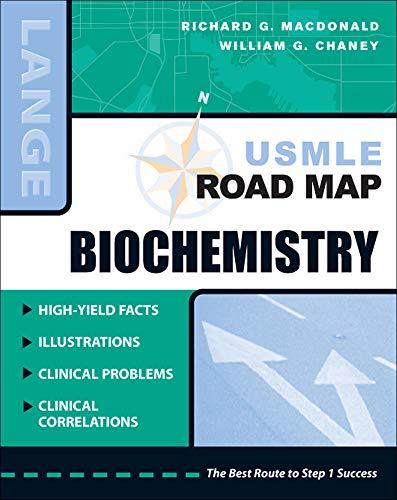 9780071442053: USMLE Road Map Biochemistry (LANGE USMLE Road Maps)