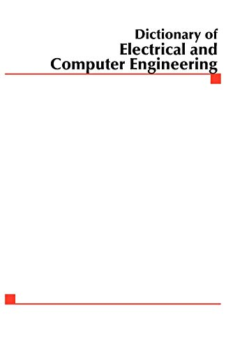9780071442107: MCGRAW-HILL DICTIONARY OF ELECTRICAL AND COMPUTER ENGINEERING