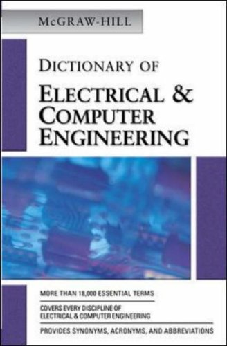 9780071442107: McGraw-Hill Dictionary of Electrical & Computer Engineering