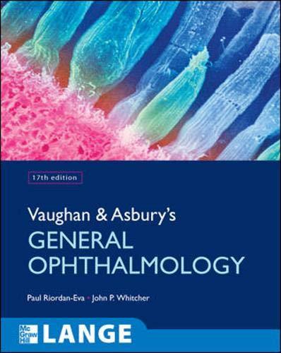9780071443142: Vaughan & Asbury's General Ophthalmology (Lange Medical Books)