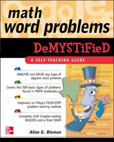 9780071443166: Math Word Problems Demystified