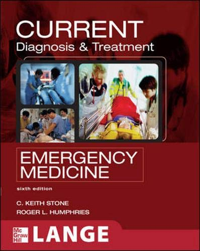 9780071443197: CURRENT Diagnosis and Treatment Emergency Medicine (Lange Current Series)