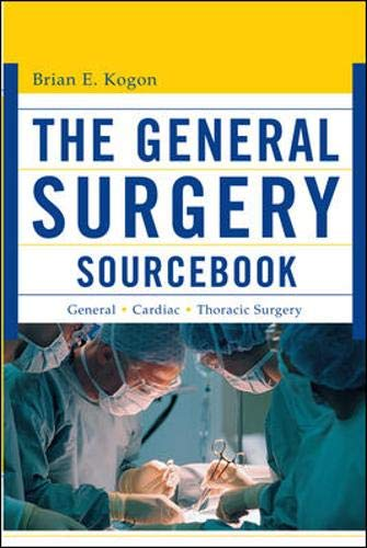 9780071443234: The General Surgery Source Book