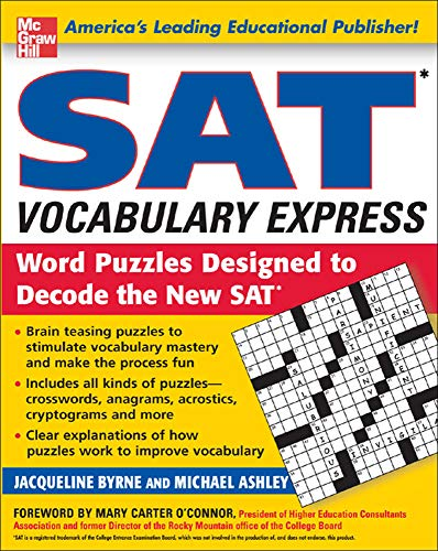 9780071443265: SAT Vocabulary Express: Word Puzzles Designed to Decode the New SAT