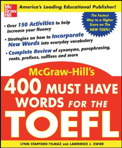 9780071443289: 400 Must-Have Words for the TOEFL