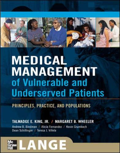 9780071443319: Medical Management of Vulnerable and Underserved Patients: Principles, Practice, and Populations