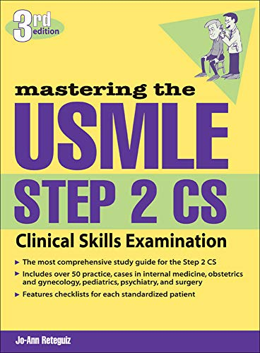 9780071443340: Mastering the USMLE Step 2 CS, Third Edition: Clinical Skills