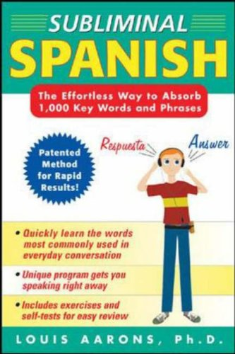 9780071443517: Subliminal Spanish (3CDs + Guide) (Book & Cds)