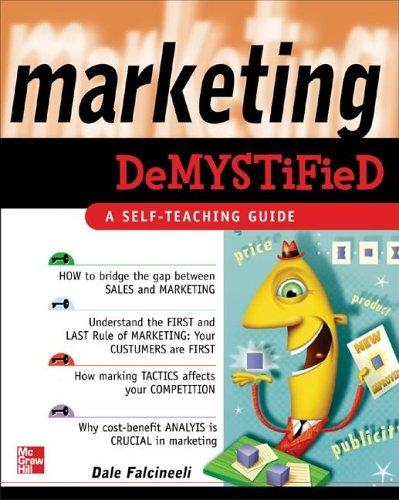 9780071444118: Marketing Demystified