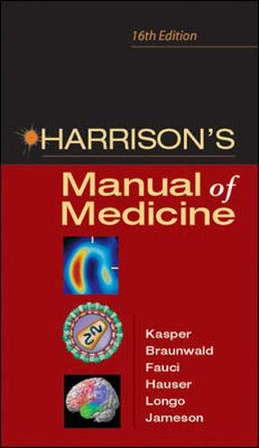 9780071444415: Harrison's Manual of Medicine: 16th Edition