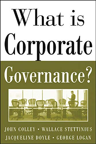 9780071444484: What Is Corporate Governance? (McGraw-Hill Executive MBA Series)