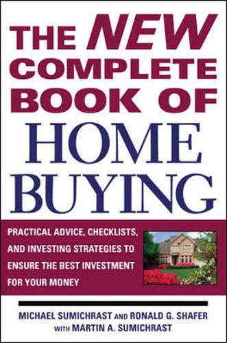 9780071444873: The New Complete Book of Home Buying