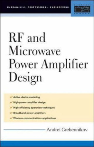 9780071444934: RF and Microwave Power Amplifier Design (Professional Engineering)