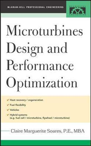 9780071444958: Microturbines Design and Performance Optimization