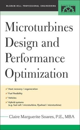 9780071444958: Microturbines Design and Performance Optimization
