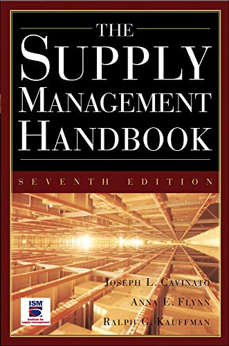 9780071445139: The Supply Mangement Handbook, 7th Ed