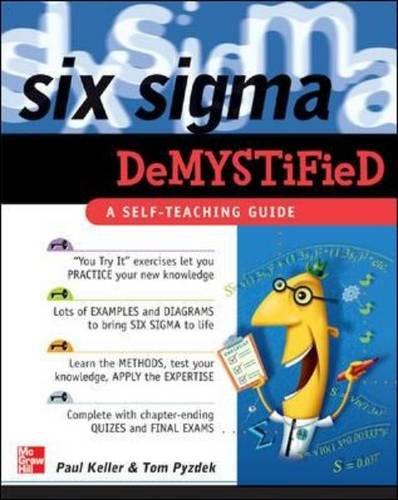 9780071445443: Six Sigma Demystified: A Self-Teaching Guide
