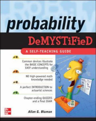 9780071445498: Probability Demystified: A Self-teaching Guide