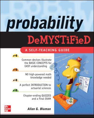 9780071445498: Probability Demystified