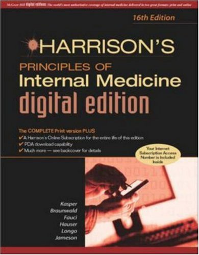 9780071445542: Harrison's Principles of Internal Medicine, 16/e Digital Edition