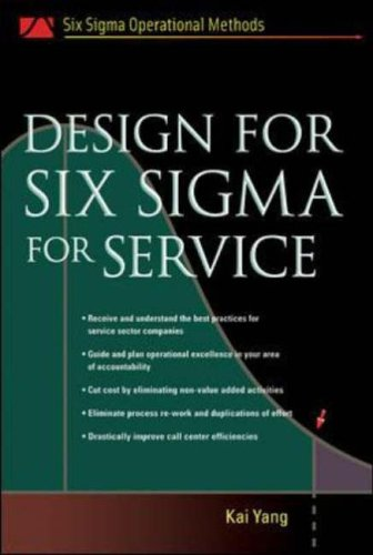 9780071445559: Design for Six Sigma for Service (Six SIGMA Operational Methods)
