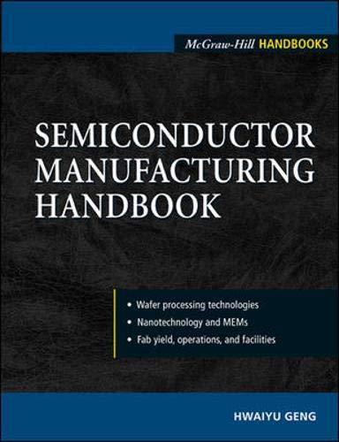 9780071445597: Semiconductor Manufacturing Handbook (McGraw-Hill Handbooks S)
