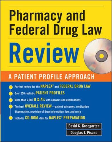 9780071445603: Pharmacy & Federal Drug Law Review: A Patient Profile Approach