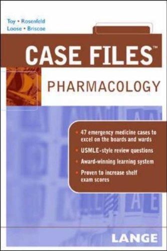 9780071445733: Case Files Pharmacology (Lange Case Files)