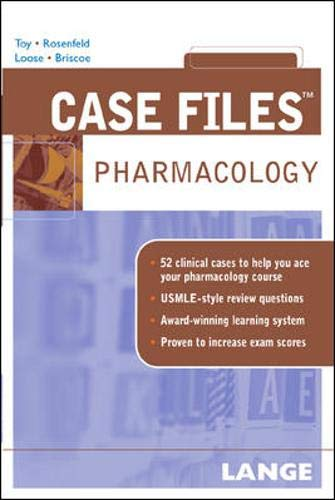 9780071445733: Case Files: Pharmacology