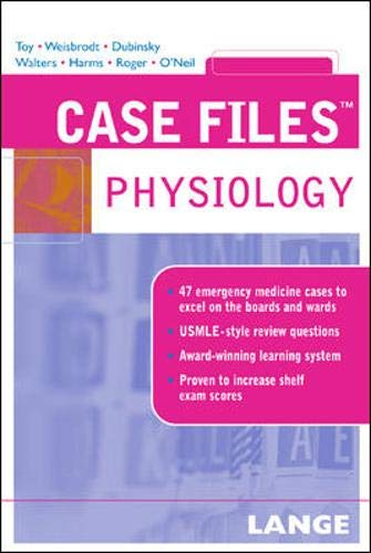 9780071445757: Case Files Physiology (Case Files (Lange))