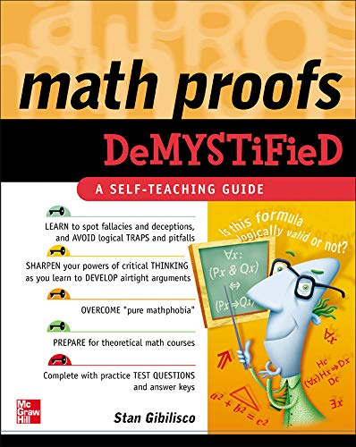 9780071445764: Math Proofs Demystified