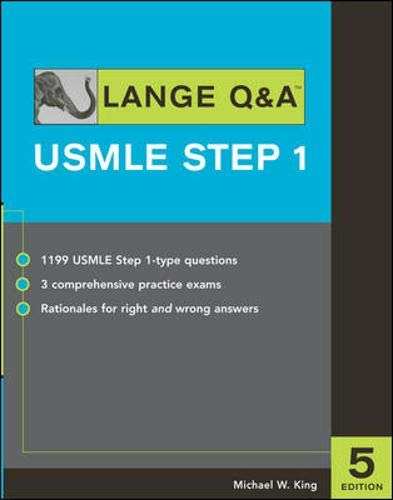 9780071445788: Lange Q&A: USMLE Step 1 (Lange's Review for the USMLE Step 1)